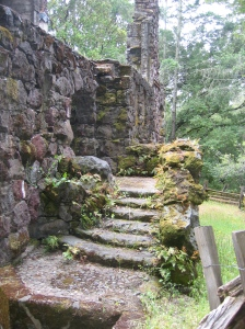 Exterior Stairs, Wolf House