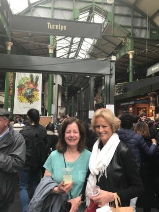 Anita Duneer_ Jeanne Reesman at Broughton Market
